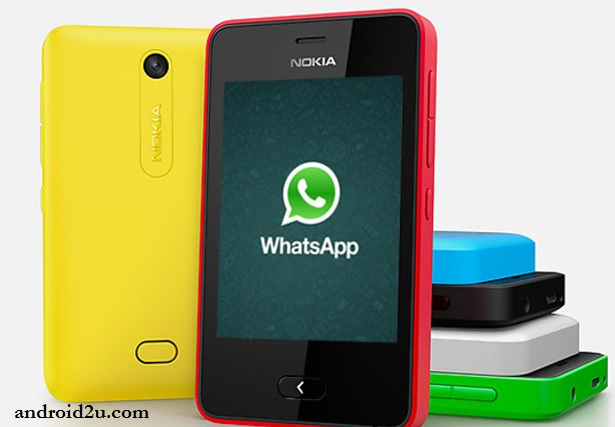WhatsApp - Nokia 501