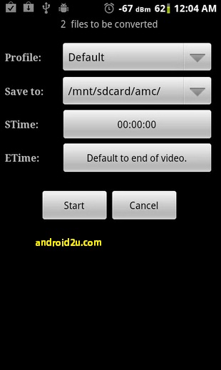 Mp4 to mp3 for android