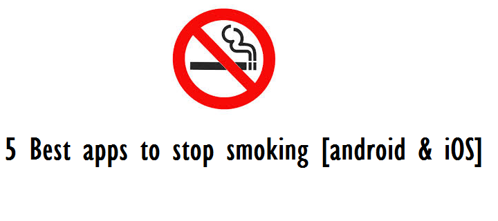 best apps to stop smoking