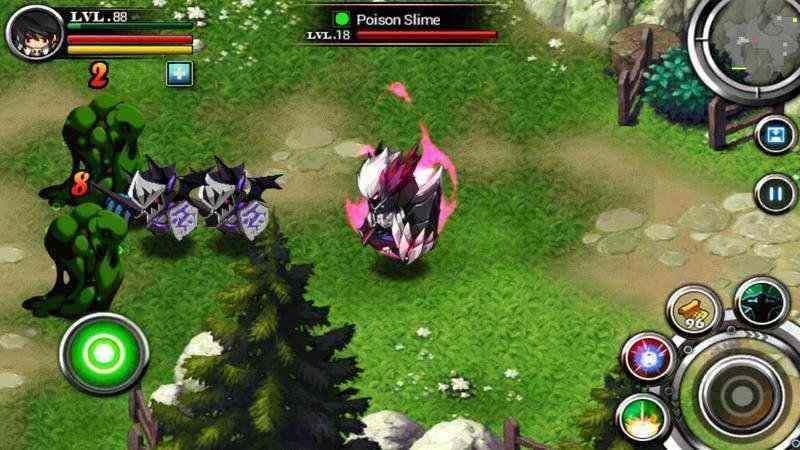 zenonia : android game