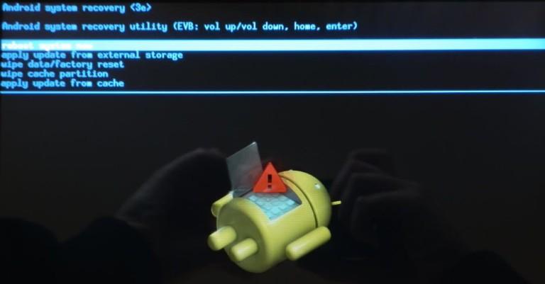 Как сделать hard reset на android через компьютер 49