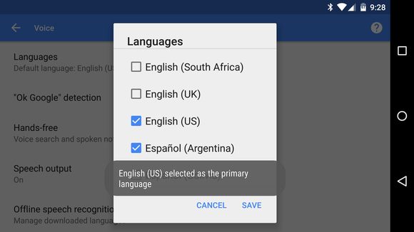 How to Select Multiple Languages for Google Voice Search