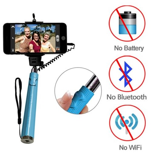 Looq Wired Selfie Stick
