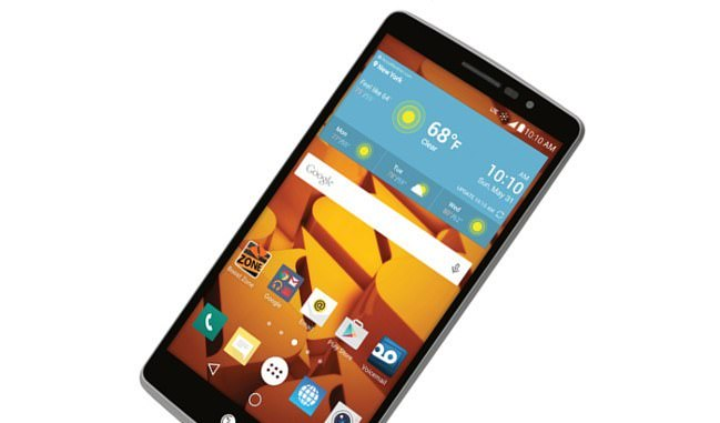 Sprint and Boost Mobile LG G Stylo