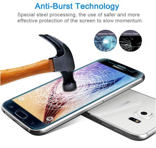 9H Tempered Glass Protector For Galaxy S6