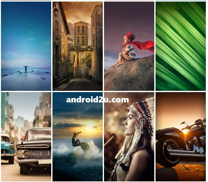 Download Stock Wallpapers Of MIUI 7