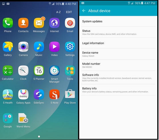 How To Install Note 5 ROM In Galaxy S6 (Ported ROM)