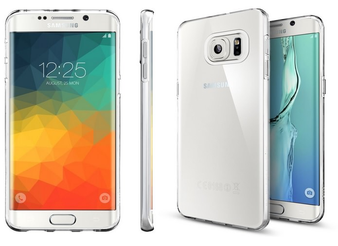Premium Semi Transparent Soft Case for Samsung Galaxy S6 Edge+