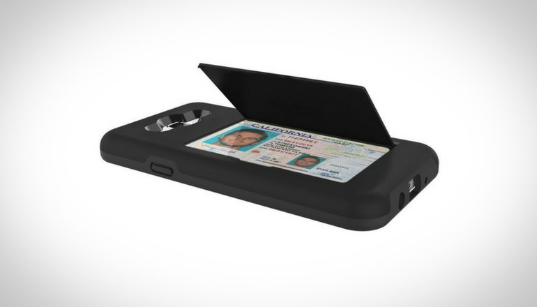 Stowaway Wallet Case With Kickstand
