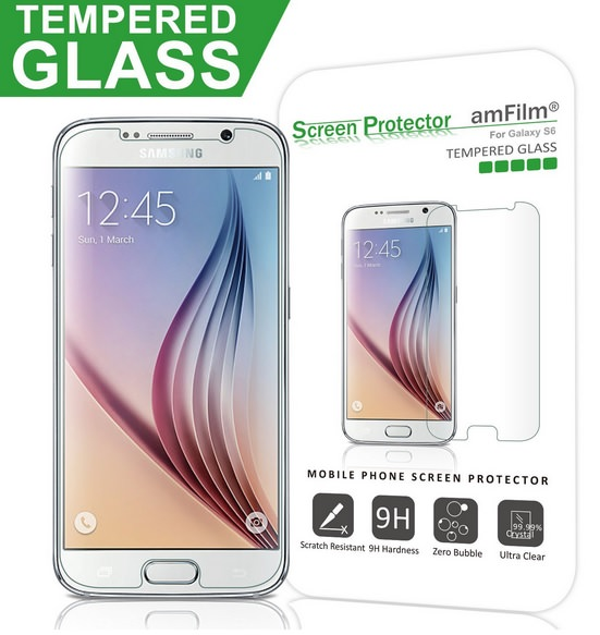 Tempered Screen protector For Galaxy S6