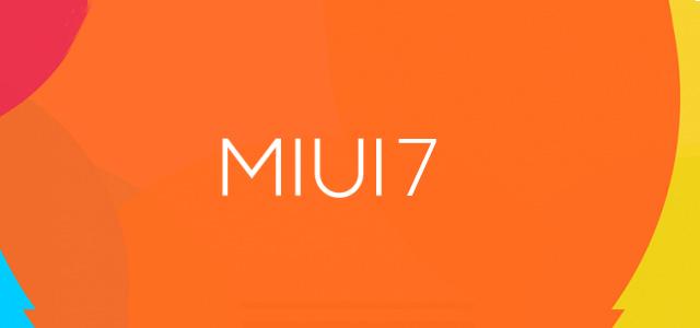 MIUI 7 ROM