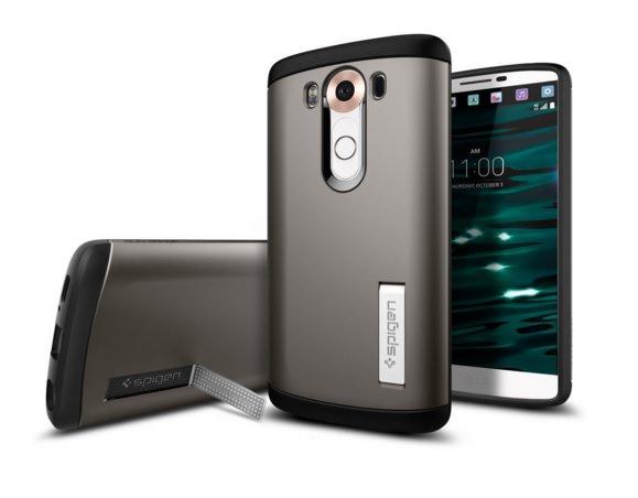 Slim Armor Case For LG V10 by Spigen