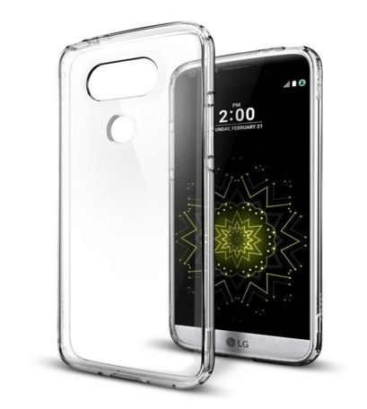 Crystal Clear TPU Bumper case For LG G5