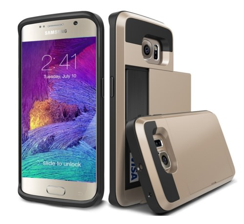 Heavy Duty S6 Edge Case by TekSonic