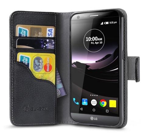 LG G5 KickStand Wallet Case