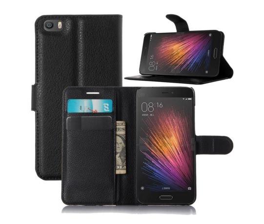 PU leather Case Xiaomi Mi5 PopSky