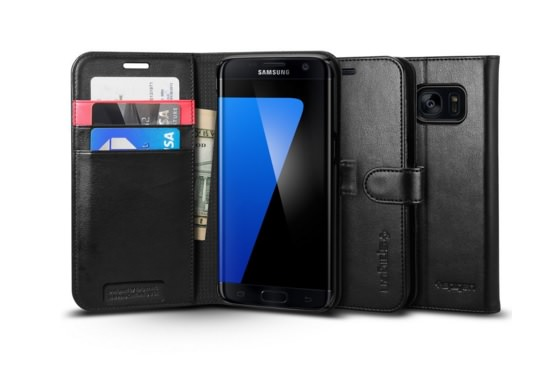 Galaxy S7 Edge Spigen Wallet Case