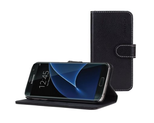 Snugg Samsung Galaxy S7 Edge Leather Wallet Case