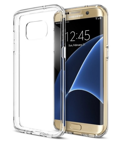 Clear Scratch Resistant Case for Galaxy S7 Edge