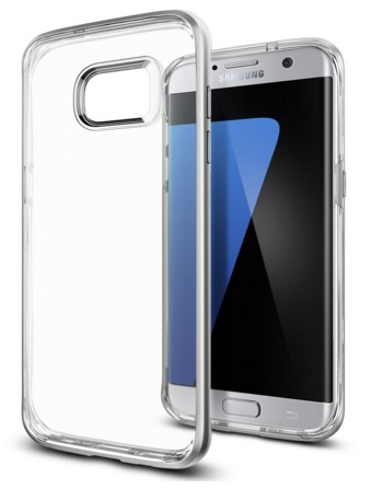 Crystal Clear Case for Galaxy S7 Edge by Spigen