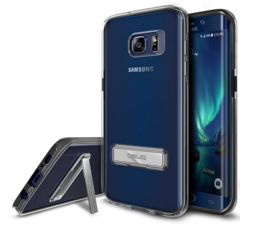 Crystal Clear Scratch Resist Dual Layer Case for Galaxy S7 Edge