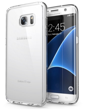 i-Blason Clear Bumper Case for Galaxy S7 Edge