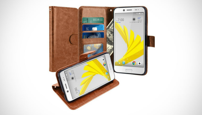 HTC Bolt Wallet Case by LK
